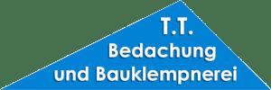 Das Logo des Dachdecker TT Bedachung und Bauklempnerei